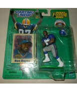 Ron Dayne 2000 2001 Extended Starting Lineup Football Action Figure Hasb... - $10.75