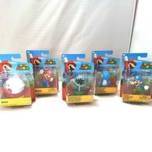 Super Mario Jakks Pacific 4 Inch Figures Ice Luigi Bone Piranna Plant Boo Yoshi  - $44.49