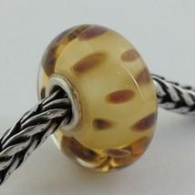 Authentic Trollbeads Murano Glass Drifting Seeds (M) Bead Charm, 61406  New - $23.74