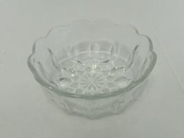 Anchor Hocking Fairfield Clear Crystal Individual Salad Bowl - $14.73