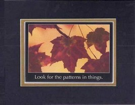 Touching and Heartfelt Poem for Motivations - [Look for the patterns in ... - $10.84