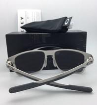 Polarized Oakley Sunglasses Holbrook Metal OO4123-05 Gunmetal w/ Torch Iridium - $209.95