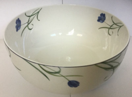 "MIKASA ""GARDEN POETRY"" Y4005 LARGE SALAD/VEGETABLE BOWL 9-1/2"" FLORAL MU... - $39.90"
