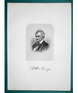 NATHAN PERRY Ohio Millionaire & Pioneer Merchant - 1881 Superb Portrait ... - $16.20