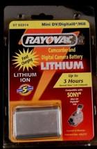 Rayovac 57 52314 Mini DV/Digital 8*/Hi8 Lithium Ion Camcorder & Camera Battery - $19.79