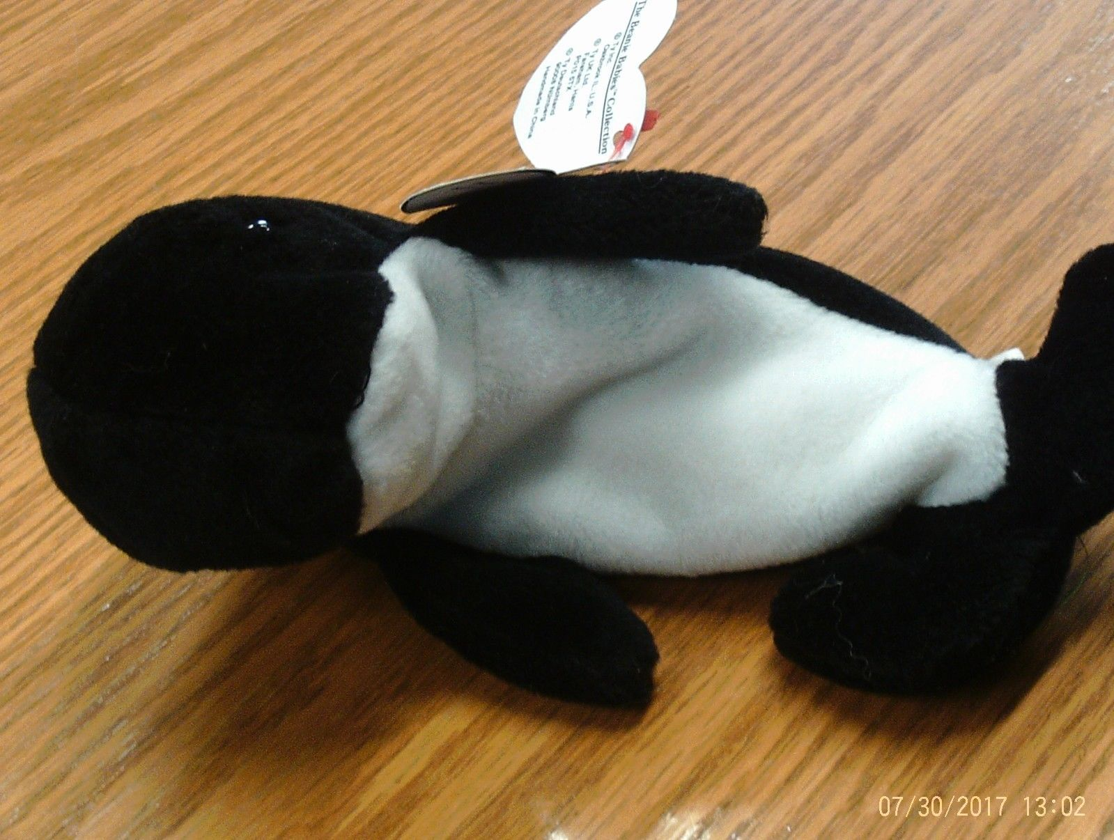 1st Edition Ty Beanie Babies Waves image 9