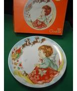 Great GOEBEL Collector Plate CHARLOT BYI 1975 CHRISTMAS- W.Germany - $6.52