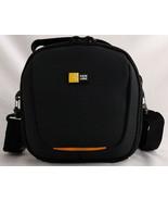 """Shoulder Case Logic 6""""x6""""x5"""" 3 Compartment 2 Lens Hardshell Case Inside ... - $17.96"""