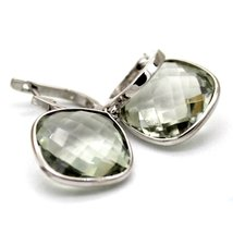925 Solid Sterling Silver Genuine Green Amethyst Gemstone Handcrafted Women's Dr image 4