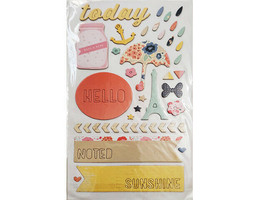 Thickers Lovely Icons Chipboard Shapes, Self-Adhesive image 2