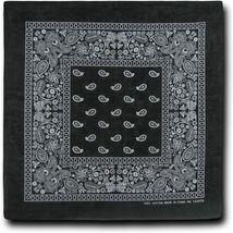 """12 Pack Premium Cotton Head Wrap Scarf Bandana Multiple Colors 22"""" X 22"""" image 13"""