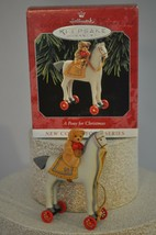 Hallmark - A Pony For Christmas - 1st in Series - Classic Ornament - $9.68