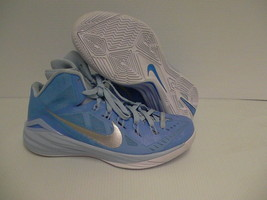 Nike hyperdunk men shoes basketball blue silver size 10 - $118.75
