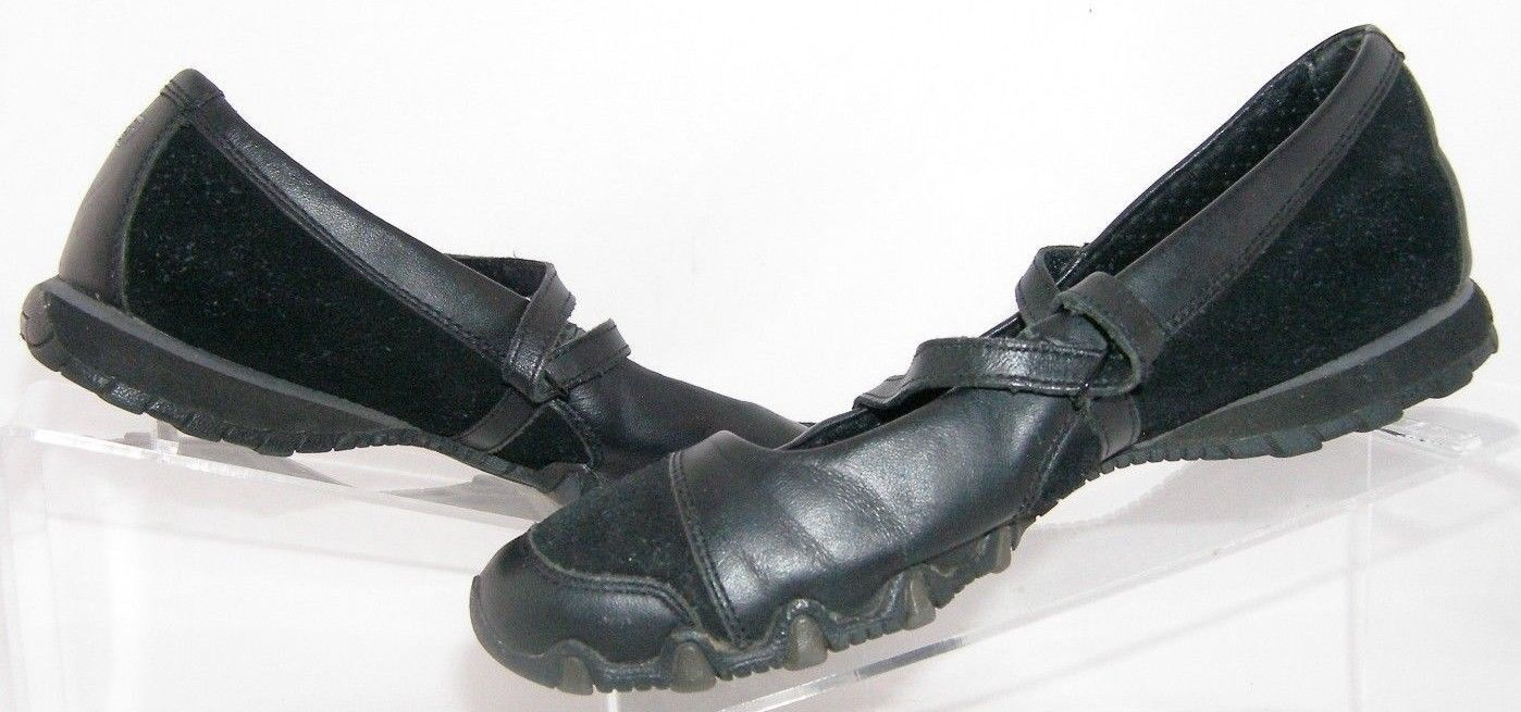 da98d87683ea Skechers  Bikers  step up 21571 strap black suede mary jane casual shoes 8