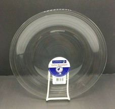 Luminarc Extra Resistant Santa Fe Dinner Plate 10.5 inch - Clear -Set of... - $43.95