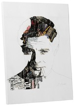 "Pingo World 0713QXCF1XM ""Ines Kouidis George Clooney Monroe"" Gallery Wrapped Can - $158.35"