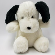 "Gund Puppy Dog Beagle Black White Bow 1986 8"" Machine Washable - $19.99"