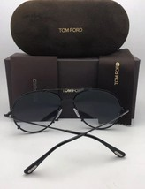 New TOM FORD Sunglasses DICKON TF 527 08B 59-14 Gunmetal Aviator w/Grey ... - $399.98