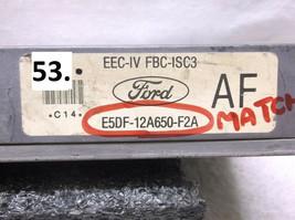85-86 FORD MUSTANG/CAPRI  2.3L M/T  ENGINE CONTROL MODULE/COMPUTER..ECU.... - $31.98