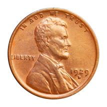 1929 D Lincoln Wheat Cents - Choice BU / MS / UNC - $33.00