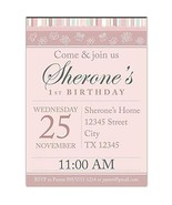 Cute Elements First Birthday Party Invitations - $25.25