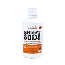 Molly's Suds Natural All Sport Laundry Wash 32 fl oz. Detergents Supplie... - £14.25 GBP