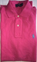 Ralph Lauren Mens Dark Pink Polo Shirt Classic Fit XS - Extra Small RRP £70 - $45.60
