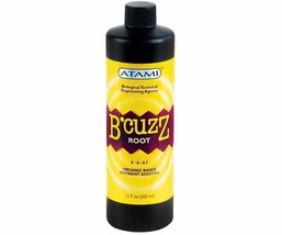 B'cuzz Root Stimulator 12 Oz Organic Based Nutrient Additive And Works Well - $36.26