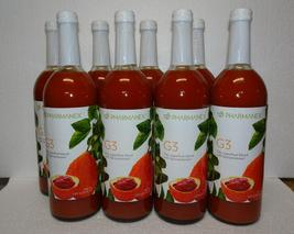 8X Bottles: Nu Skin Nuskin Pharmanex G3 Juice Pack SEALED - $390.00