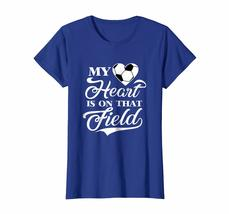 Brother Shirts - My Heart Is On That Field Soccer T Shirt Wowen image 4