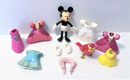 Disney Polly Pocket Mini Dolls Minnie Mouse, Dresses & More - $12.74