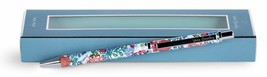 Vera Bradley Black Ink Metal Click Ballpoint Pen Shore Thing NEW FS! - $16.50