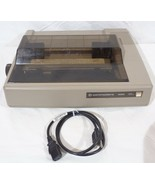 Vintage Commodore 1526 Dot Matrix Printer w/ Dust Cover - Powers On - $59.39