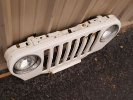 97-06 Chrysler Jeep Wrangler Grill Grille Gril Header Panel Radiator Support image 4