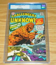 Challengers of the Unknown #51 CGC 8.0 silver age dc comics - sea devils... - $92.99