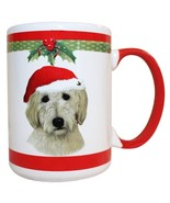 Golden Doodle Christmas Coffee Mug 15 oz E&S Pets Dog Puppy Tea Cup Holiday - $19.98