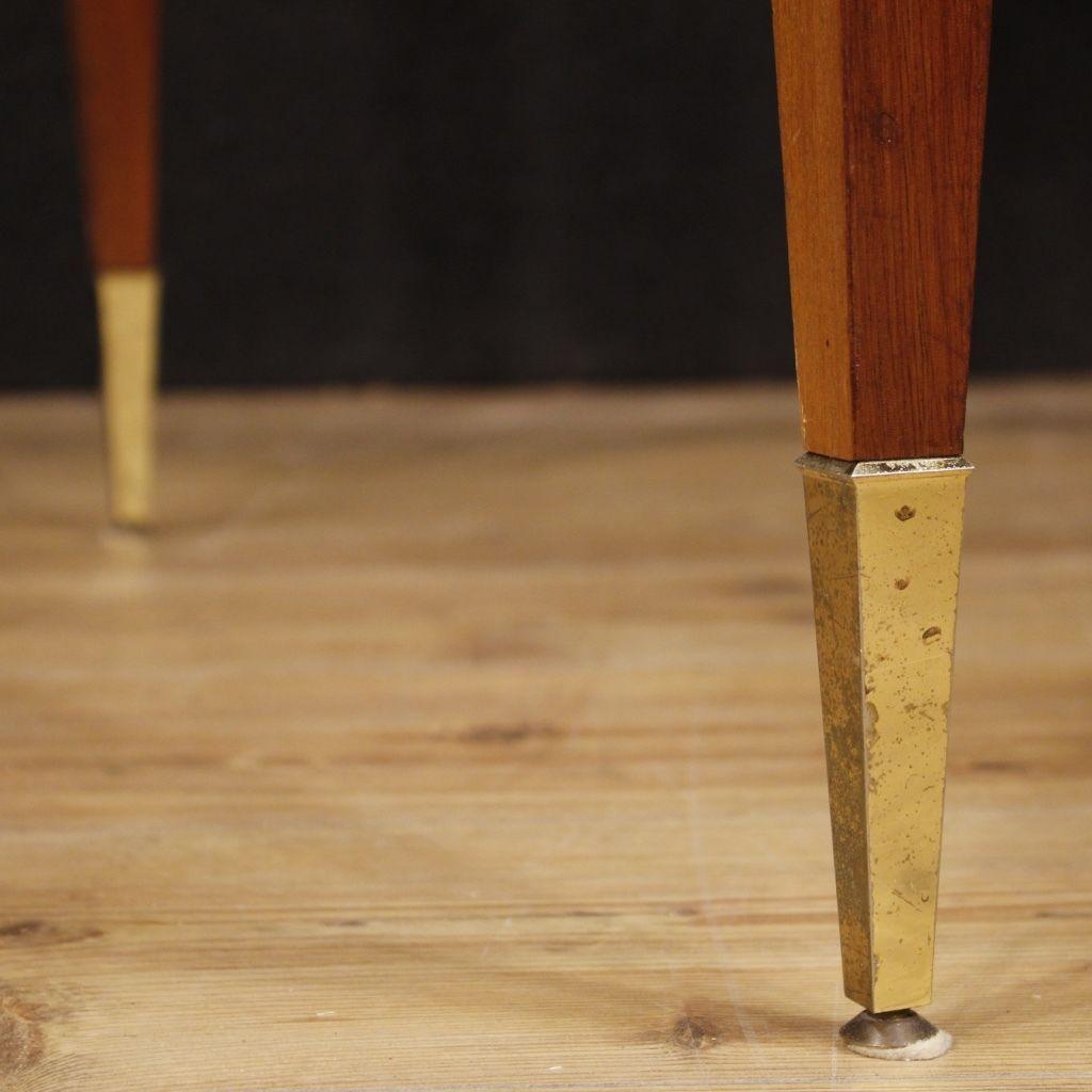 Table Extensible Salle Manger Design Meuble En Bois Acajou Style  # Meubles Modernes En Acajou