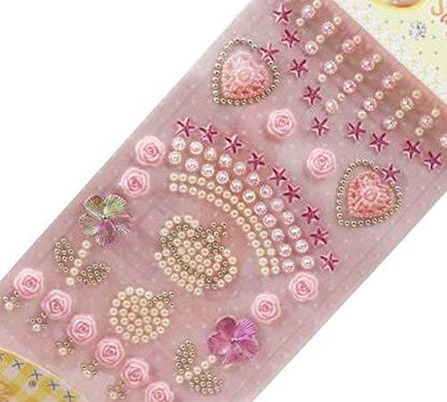 4 Sheets Acrylic Rhinestone Stickers Diy And 50 Similar Items