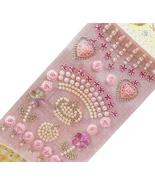 4 Sheets Acrylic Rhinestone Stickers DIY Crafts Stickers, Pink Crown - $15.69