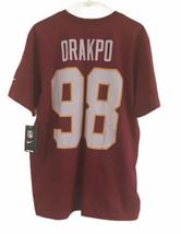 Nike Washington Redskins Brian Orakpo Shirt Large NFL - $44.55