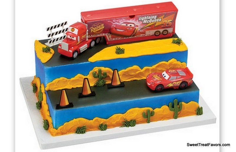 Cars 3 Build For Speed Cake Decoration Party And 50 Similar Items