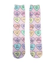 I DON'T LIKE YOU Heart Socks - $12.95
