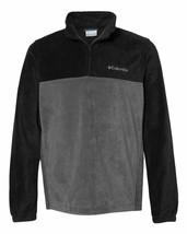 Columbia Steens Mountain Quarter Zip Fleece Jacket Mens Adult Sports 162019 - $35.99+