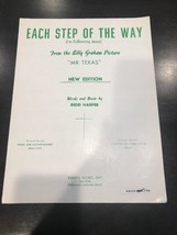 Each Step Of The Way Sheet Music - $14.43