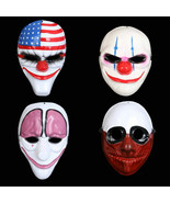 Hallowee Horror Mas Payday 2 Mas est ic Game Series Plastic Old Clow Fla... - $15.99