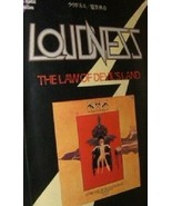 LOUDNESS THE LAW OF DEVIL'S LAND JAPAN BAND SCORE GUITAR TAB Rare! - $116.42