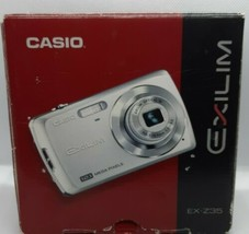 Casio Exilim EX-Z35 12 MP Digital Camera W/ 3x Optical Zoom 2.5-Inch LCD  - $26.99