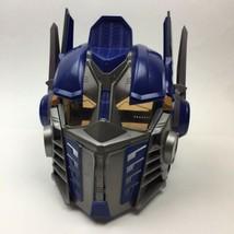 Transformers Optimus Prime Electronic Talking Helmet Mask Hasbro Works 2006 Used - $21.78