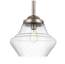 Generation Lighting MP1409SN Alcott Down Light Pendant in Satin Nickel - $197.95