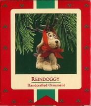 1987 - New in Box - Hallmark Christmas Keepsake Ornament - Reindoggy - $4.94